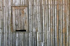 Vintage bamboo panel Royalty Free Stock Photos