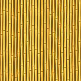 Vintage bamboo wall seamless texture background stock illustration