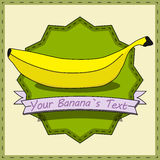 Vintage Banana Stock Photography