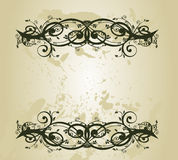 Vintage banner Royalty Free Stock Photos