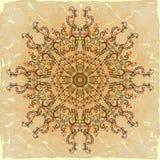 Vintage banner ethnic pattern Stock Images