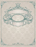 Vintage banner. Royalty Free Stock Photography