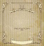 Vintage banner. Royalty Free Stock Photo