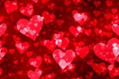 Vintage banner Valentines day. Royalty Free Stock Images