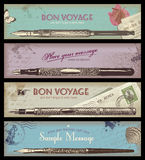 Vintage banners Stock Photo