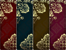 Vintage banners set Royalty Free Stock Image