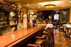 Vintage bar restaurant Stock Image