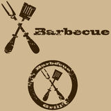 Vintage barbecue Royalty Free Stock Photos