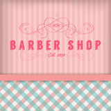 Vintage Barber Shop Image stock