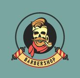 Vintage Barber Shop Stock Images