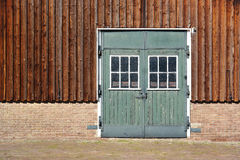 A vintage barn door Royalty Free Stock Photo