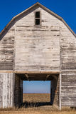 Through the vintage barn. Royalty Free Stock Photography