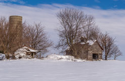 Vintage barn. Royalty Free Stock Images