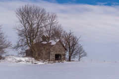 Vintage barn. Stock Images