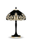 Vintage Baroque Classic lamp Stock Photo