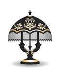Vintage Baroque Classic lamp Stock Photography