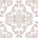 Vintage Baroque damask floral pattern acanthus Imperial style. Vector decor background. Luxury Classic ornament. Royal Royalty Free Stock Photo