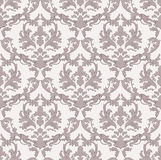Vintage Baroque damask floral pattern acanthus Imperial style. Vector decor background. Luxury Classic ornament. Royal. Victorian texture for papers, textile Stock Photography