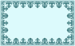 Vintage baroque decor frame. Vector ornate Stock Photography