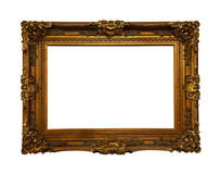 Vintage Baroque frame stock photography
