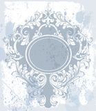 Vintage baroque ornament Vector. Classic old carved frame decors. Baroque sophisticated designs vector illustration