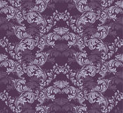Vintage Baroque rich pattern background Vector illustration Royalty Free Stock Image