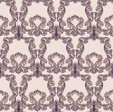 Vintage Baroque rich pattern background Vector illustrations Stock Photo