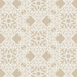 Vintage Baroque Rococo ornament pattern. Vector damask decor. Royal Victorian texture for wallpapers, textile, fabric Stock Photography