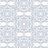 Vintage Baroque Rococo ornament pattern Stock Photo