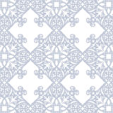 Vintage Baroque Rococo ornament pattern. Vector damask decor. Royal Victorian texture for wallpapers, textile, fabric Royalty Free Stock Images