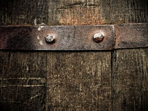 Vintage barrel close-up Royalty Free Stock Images