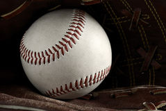 Vintage baseball Royalty Free Stock Photo