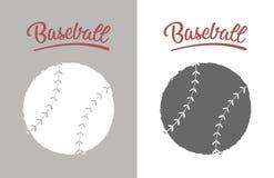 Vintage baseball ball stock image