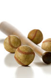 Vintage Baseball Items Stock Images
