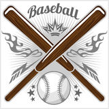 Vintage baseball label and badge Royalty Free Stock Photo