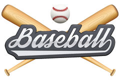 Vintage baseball label and badge Stock Image
