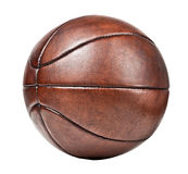 Vintage basket ball Royalty Free Stock Image