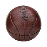 Vintage basket ball Royalty Free Stock Photo