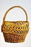 Vintage basket - weave fibers form a natural unique pattern. Basket of willow— wicker ware art crafts, storage, packaging and. Carrying stock photos