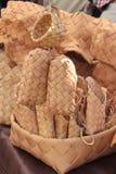 Vintage basket Stock Image