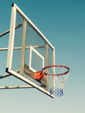 Vintage Basketball Goal Stock Photos
