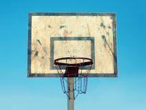Vintage basketball hoop Stock Photos