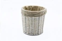 Vintage baskets. Vintage Decorative Baskets for Courtyards stock image