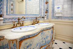 Vintage bath room Royalty Free Stock Photo