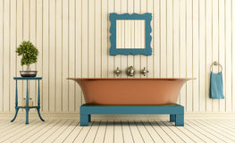 Vintage bathroom Royalty Free Stock Image