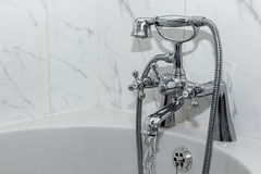 Vintage Bathroom Tap / Faucet Stock Photos