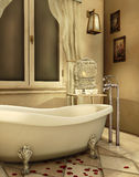 Vintage bathtub Royalty Free Stock Photos
