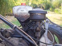 Vintage BCS 622 lawn mower engine in Milan Stock Photography