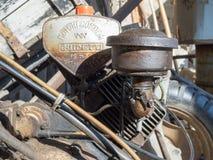Vintage BCS 622 lawn mower engine in Milan Stock Photo