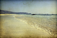Vintage beach Royalty Free Stock Photography